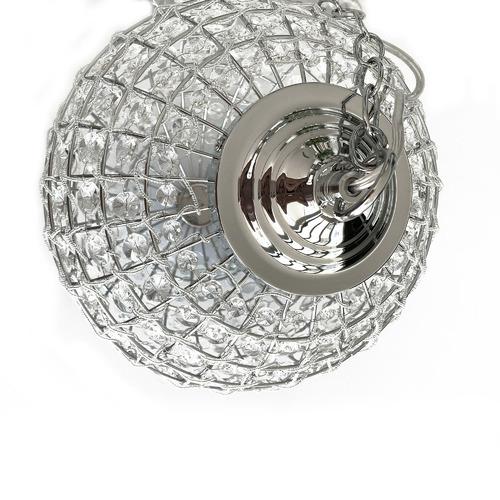 Lexington Home Casablanca Glass & Metal Pendant Light