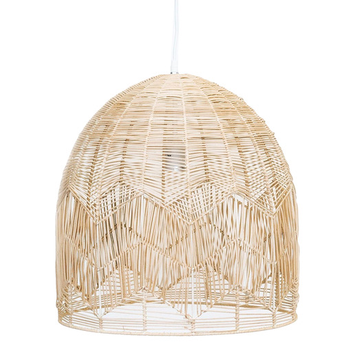 Lexington Home Amalfi Rattan Lace Pendant Light