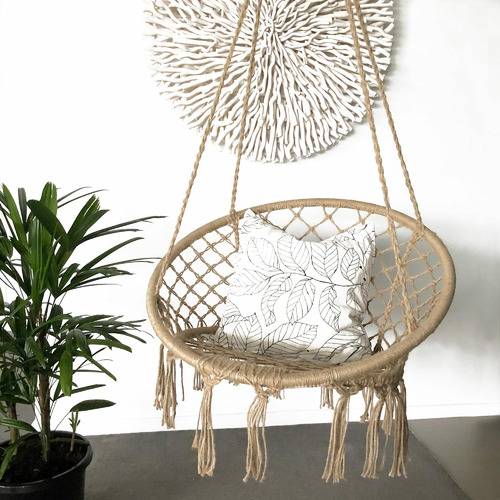 Lexington Home Natural Madrid Rope Hanging Chair Reviews Temple Webster