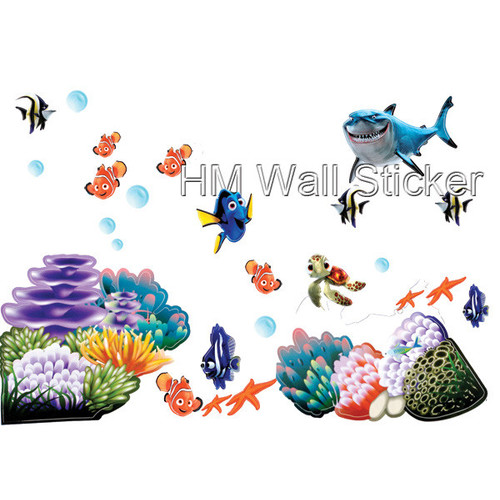 Bon HM Wall Decal Finding Nemo Wall Sticker
