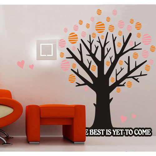 Polka Dot Wall Stickers Bedroom