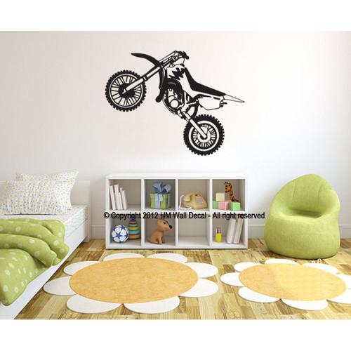 Dirt Bike Wall Sticker Temple Amp Webster