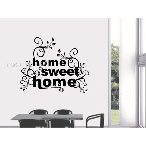 HM Wall Decal Home Sweet Home Wall Art Decal Part 50