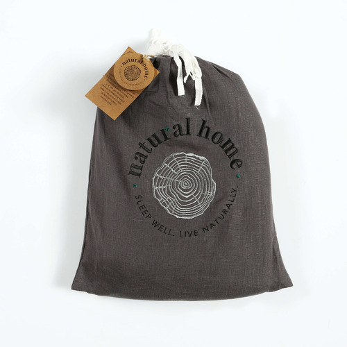 Natural Home Solid European Flax Linen Sheet Set