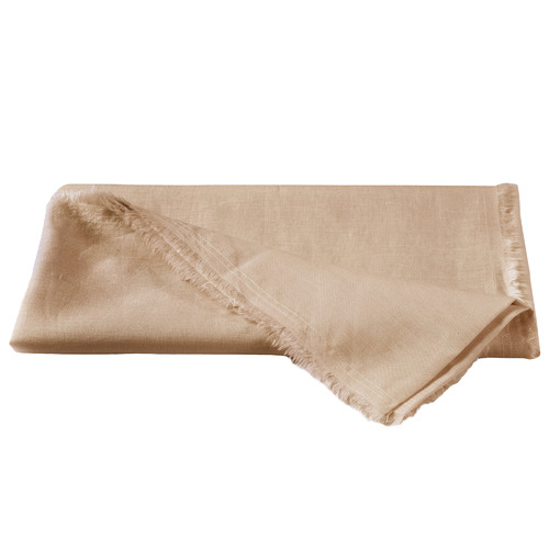 Natural Home Solid European Flax Linen Throw