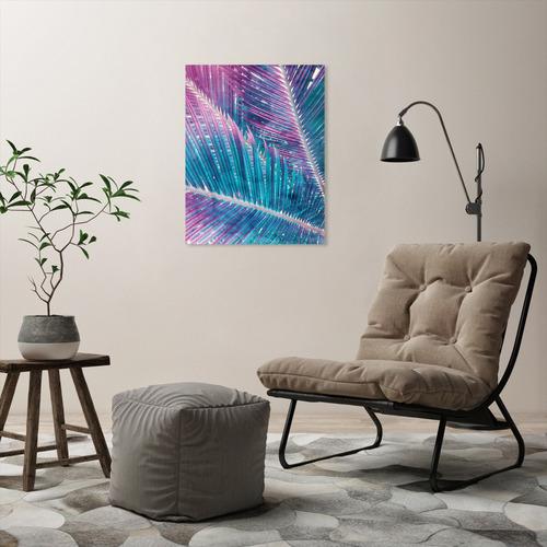 Americanflat Pastel Palms II Printed Wall Art