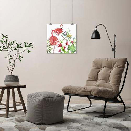 Americanflat Flamingo Pairing Printed Wall Art