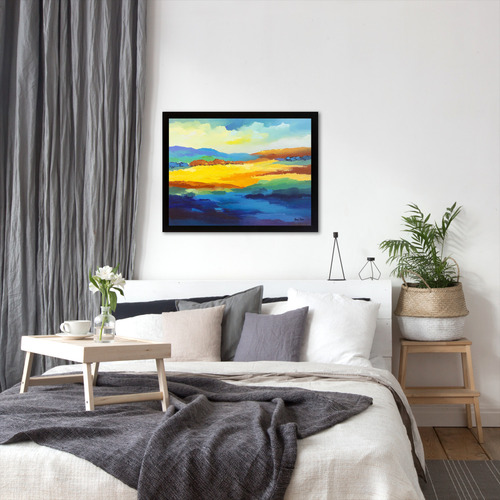 Americanflat Abstract Landscape 13 Printed Wall Art