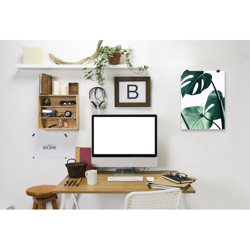 Americanflat Monstera Printed Wall Art