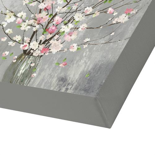 Americanflat Delicate Pink Blooms Printed Wall Art