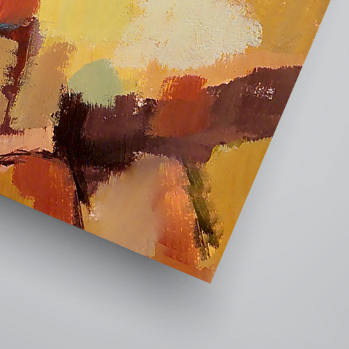 Americanflat Abstract Landscape 8 Printed Wall Art