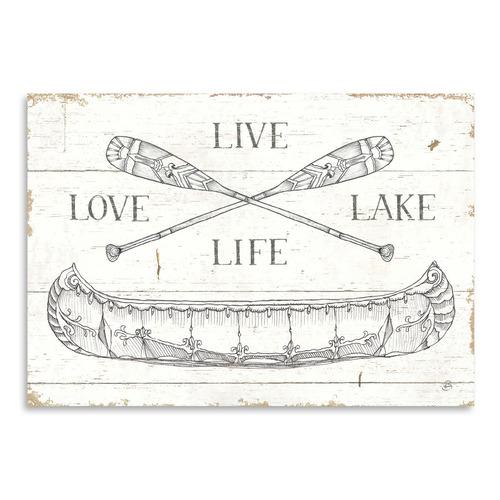 Americanflat Lake Sketches III Printed Wall Art