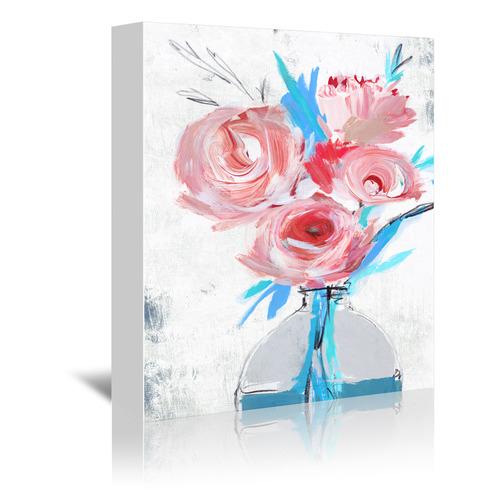 Americanflat Blue Vase II Printed Wall Art