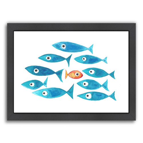 Americanflat Fish Cluster I Printed Wall Art