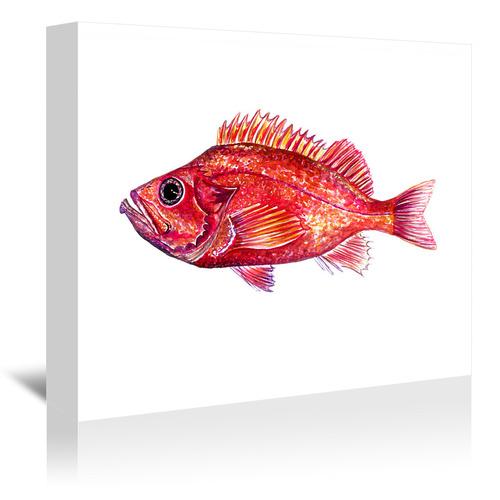 Americanflat Redfish II Printed Wall Art