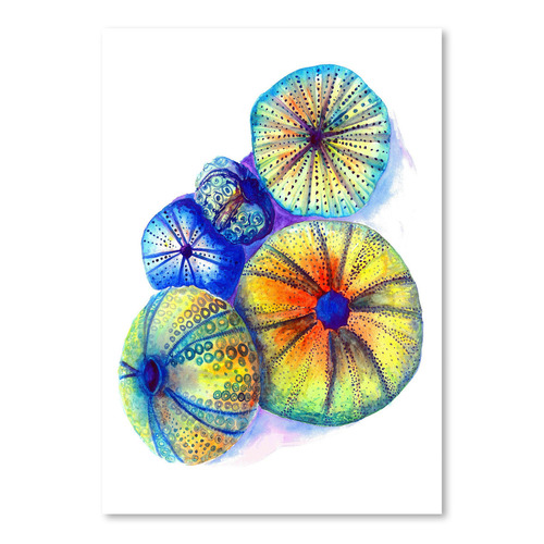 Americanflat Urchins Printed Wall Art