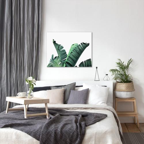 Americanflat Banana Leaves Printed Wall Art