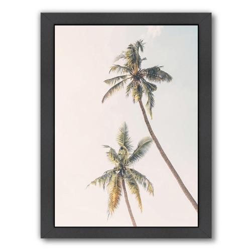 Americanflat Blush Palm Tree II Printed Wall Art