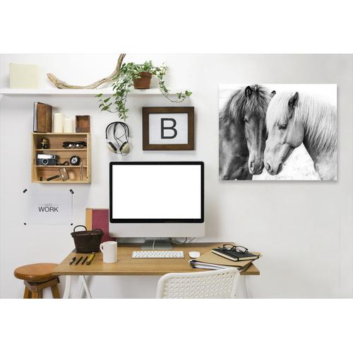 Americanflat Horse Love Printed Wall Art