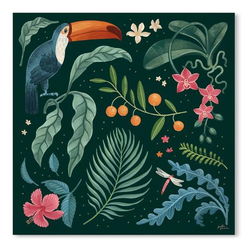 Americanflat Jungle Love III Printed Wall Art