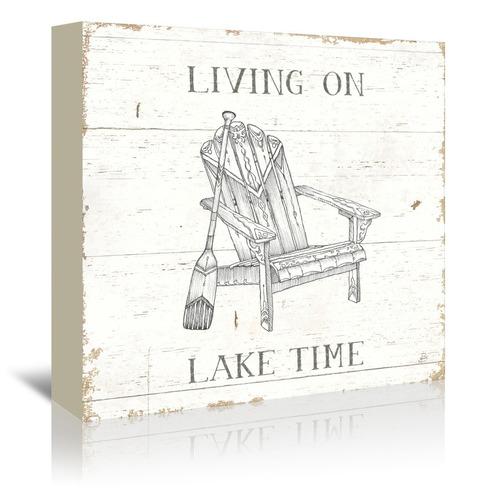 Americanflat Lake Sketches IV Printed Wall Art
