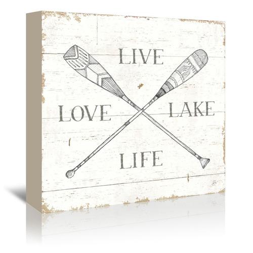 Americanflat Lake Sketches VI Printed Wall Art
