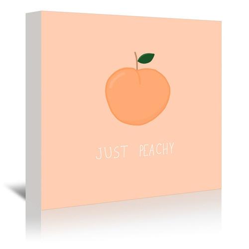 Just Peachy Printed Wall Art