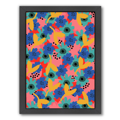 Americanflat Relaxing Floral Printed Wall Art