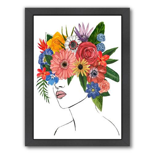 Americanflat Flower Lady II Printed Wall Art by Annie Warren