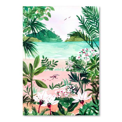 Americanflat Seaside Meadow Printed Wall Art