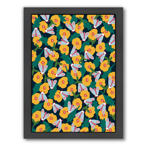 Americanflat Butterflies Everywhere Printed Wall Art