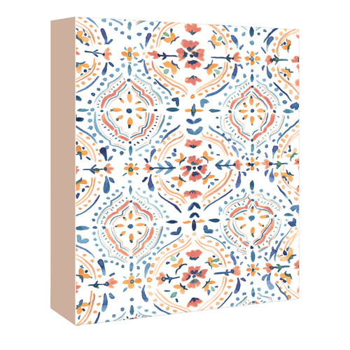 Americanflat Moroccan Tiles Printed Wall Art