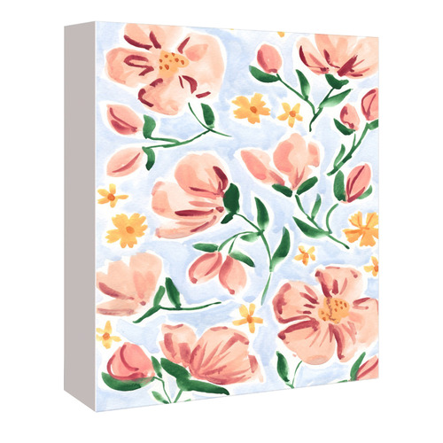 Americanflat May Flowers Printed Wall Art