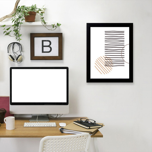 Americanflat Lines Printed Wall Art