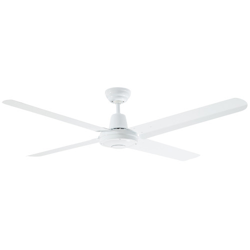 Martec White Precision Steel Ceiling Fan