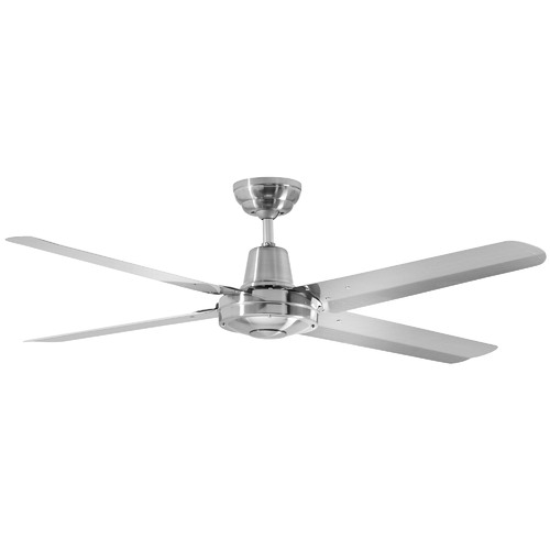 Martec Silver Precision Stainless Steel Ceiling Fan