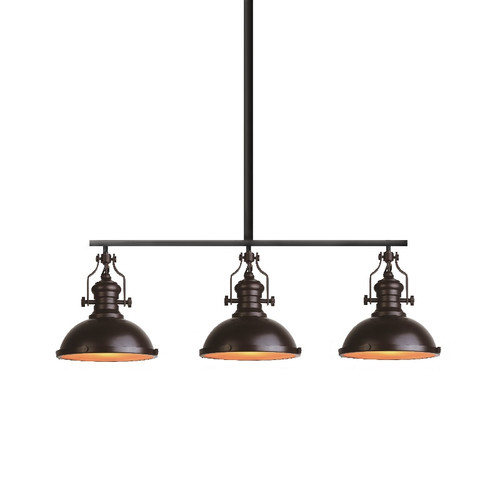 Glebe 3 light industrial pendant lamp temple webster hermosa glebe 3 light industrial pendant lamp mozeypictures Choice Image