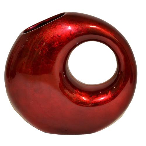 Rovan Round Lacquerware Vase