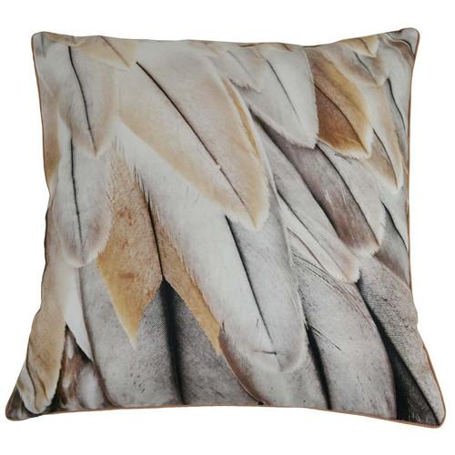 Rovan Feathers Cotton Cushion