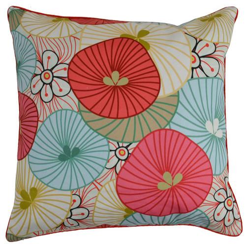 Rovan Flowers Cotton Cushion