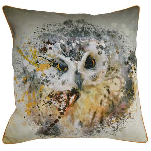 Rovan Owl Cotton Cushion