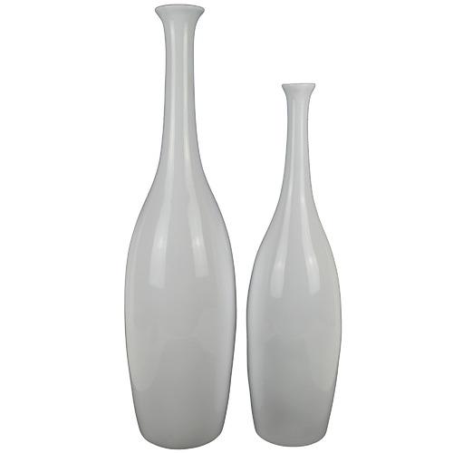 Athena Polyresin Vase