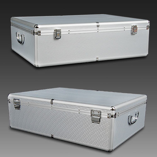 Aluminium Cd Storage Case Temple Webster