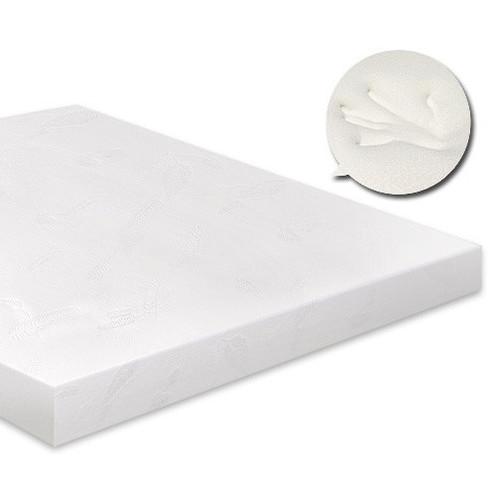 Visco Elastic Memory Foam Mattress Topper 7cm Thick Temple Webster