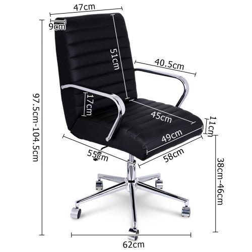 i.Life PU Leather Executive Office Chair