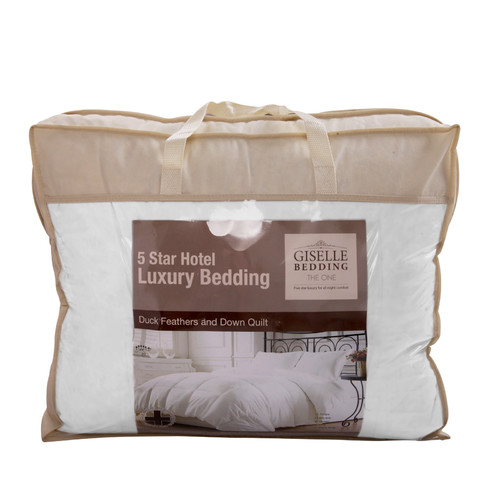 i.Life Duck Feathers Down Quilt with Bag