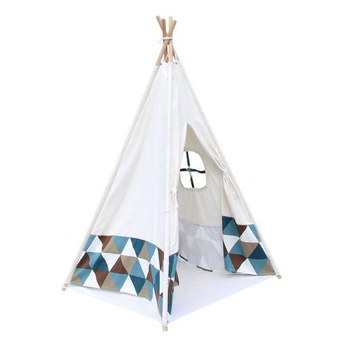 i.Life 4 Poles Teepee Tent w/ Storage Bag