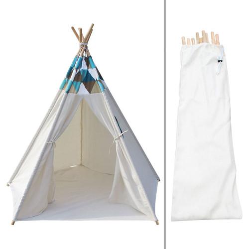i.Life 5 Poles Teepee Tent w/ Storage Bag