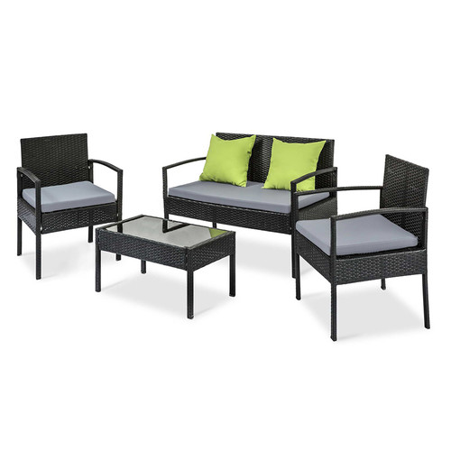 i.Life 4 Seater Outdoor Patio Set