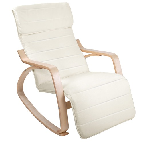 Brand-new Carina Adjustable Modern Bentwood Recliner Chair   Temple & Webster SN89